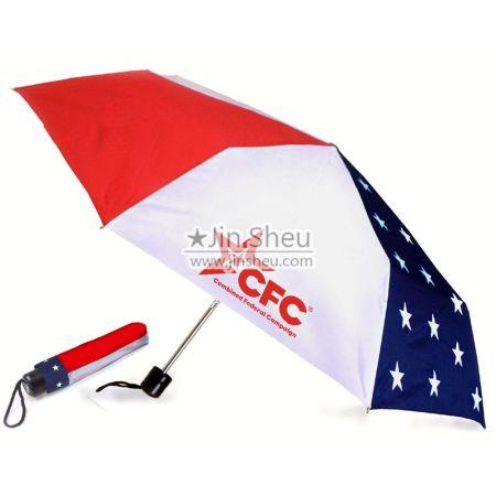 Personalized Foldable Umbrella - Custom best folding umbrella
