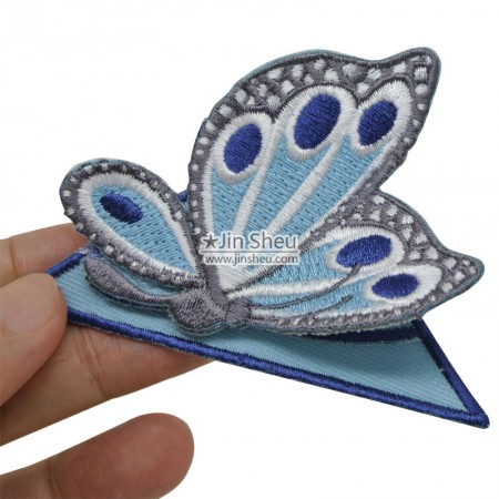 Butterfly Corner Bookmarks - Butterfly embroidery corner bookmarks
