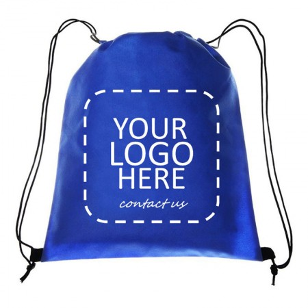 custom logo drawstring backpack - Personalized backpack style Non-woven bag