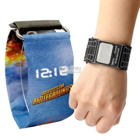 Tyvek Paper Watch - Custom made paper watch