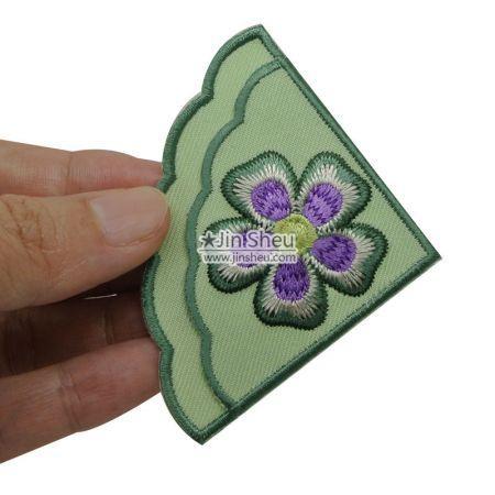 Flower corner bookmarks - Flower embroidery corner bookmarks