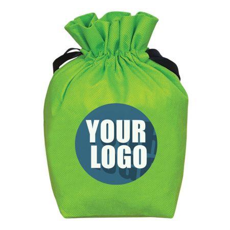 Drawstring non-woven bag - Customized Drawstring bag