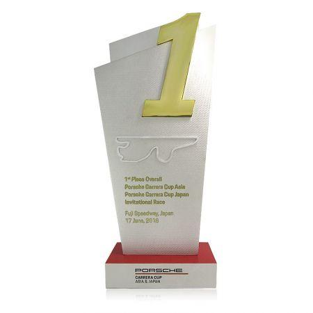 custom made aluminum alloy award career cup