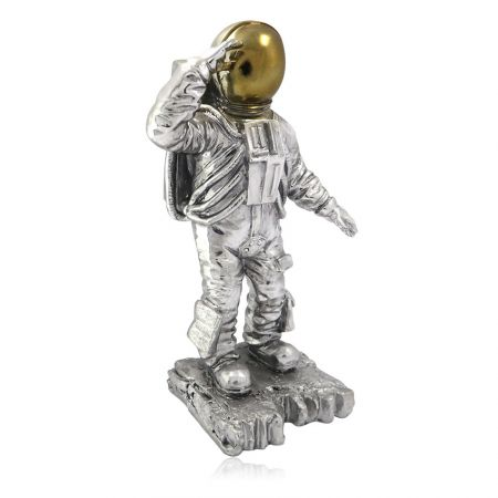 custom made astronaut polyresin award trophy