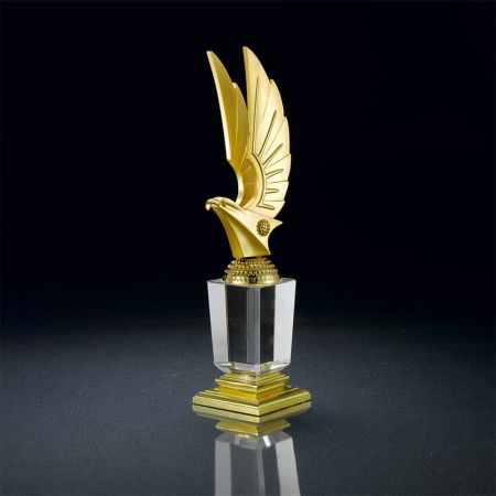 Success Spire Crystal Award
