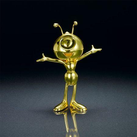 custom cute figure metal award trophies