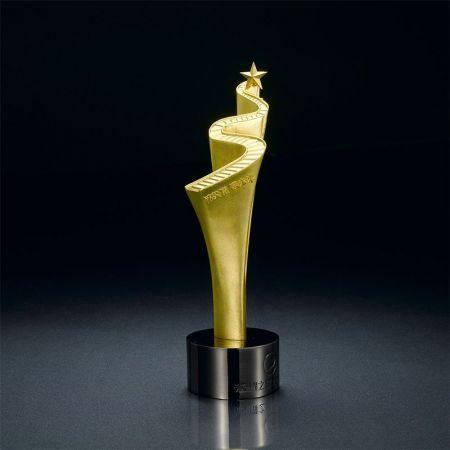 custom made metal corporate awards