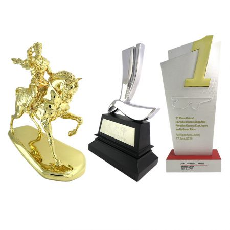 Custom Metal Award Trophies - custom made metal award souvenir