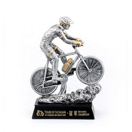 custom polyresin sports award trophy