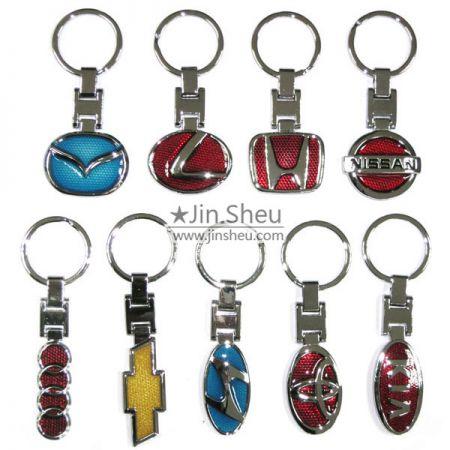 Zinc Alloy Car Logo Keychains - Zinc Alloy Car Logo Keychains