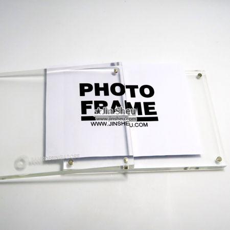 Magnetic Acrylic Photo Frame - Magnetic Acrylic Photo Frame