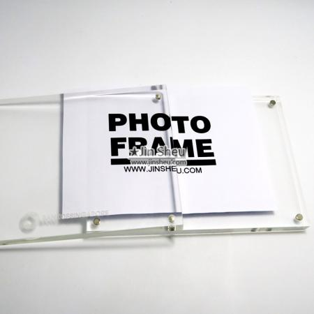 Magnetic Acrylic Photo Frame - Magnetic Acrylic Photo Frame