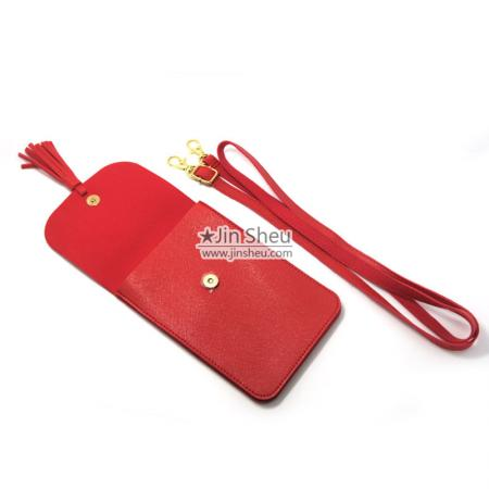 custom logo cell phone purse shoulder bags