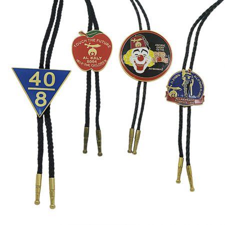 Medallion Bolo Tie Necklaces - Custom Made Bolo Ties