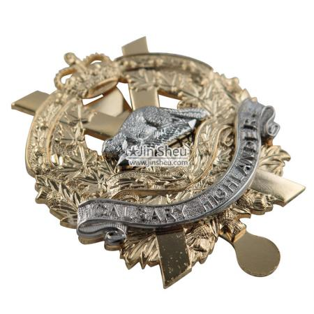 Military Cap Badges - Custom Cap Badges