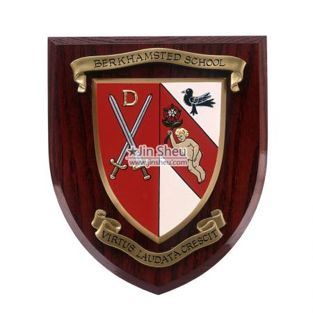 Custom Wood Wall Shield Plaques - Custom Wood Wall Shield Plaques