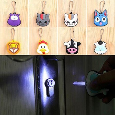 Soft PVC Key Cap Cover with LED Light - soft pvc LED key cap covers
