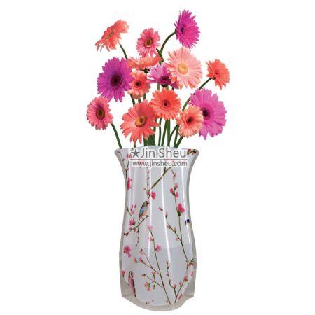 Transparent Flower Vases - Transparent Plastic Flower Vases