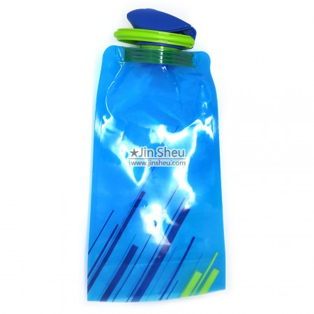 Flexible Water Bottles - Flip Cap Collapsible Water Bottles