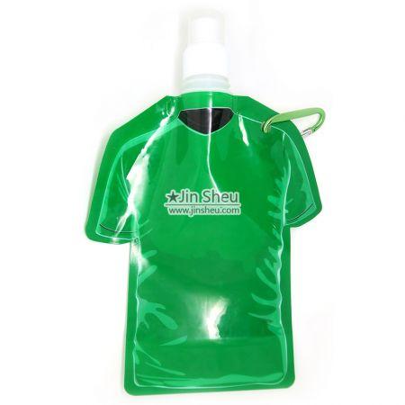 Jerseys Collapsible Water Bottles - T-shirt Shape Collapsible Water Bottles