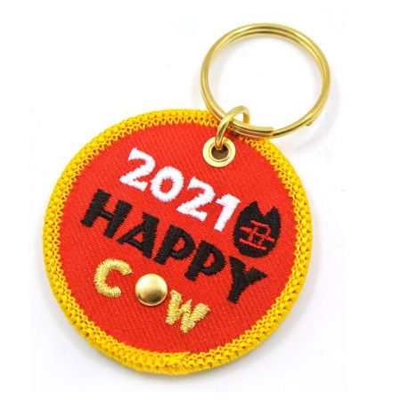 Embroidery Spin Keychain