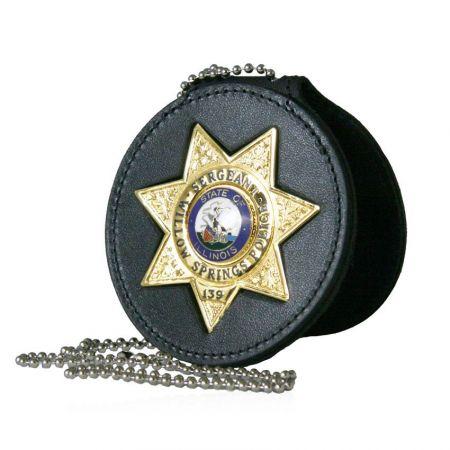 Leather Belt Clip Badge Holders - Custom Leather Belt Clip Badge Holders