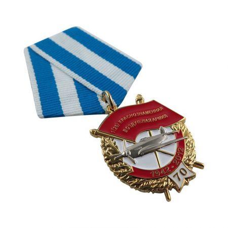 Military Medallion Drape Ribbon - Military Medallion Drape Ribbon