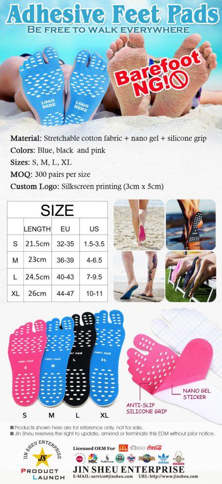 Adhesive Feet Pads - Adhesive Feet Pads