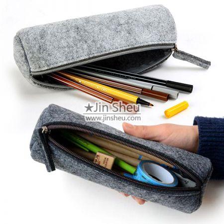 Felt Pencil Box - felt pen case