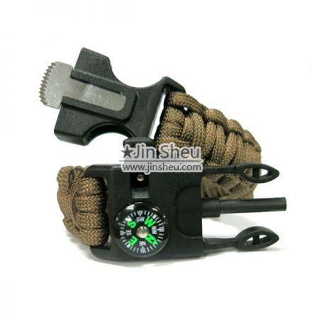 Outdoor Survival Paracord Bracelet - Outdoor Survival Paracord Bracelet