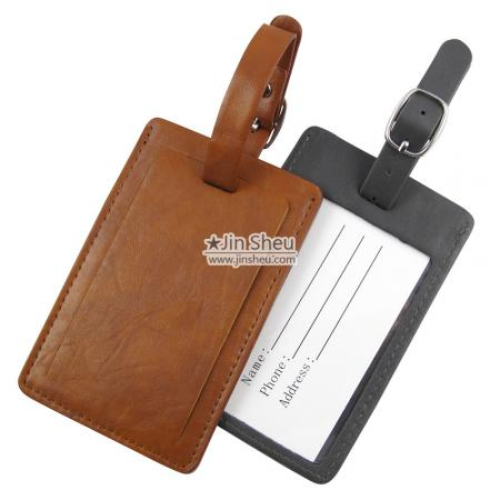 Personalized Leather Luggage Tag - Personalized Leather Luggage Tag
