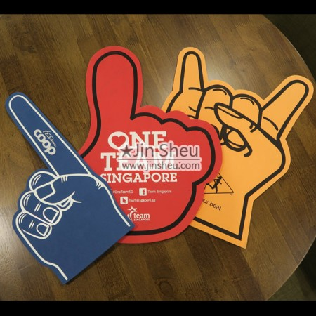 Giant Foam Finger - Giant Foam Finger with Custom Logo Printing