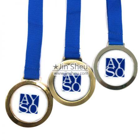 Classic Plain Framed Acrylic Medallions