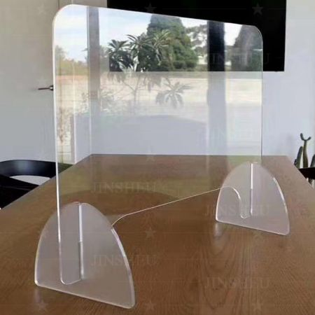 acrylic social distancing desk partition