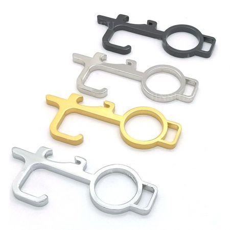 wholesale non-contact door opener key chains