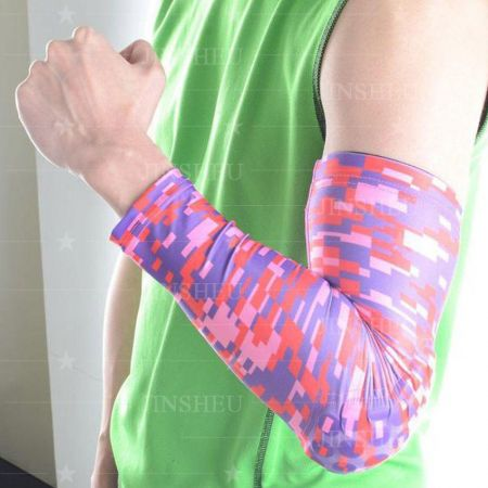 wholesale digital printed UV compression arm sleeves