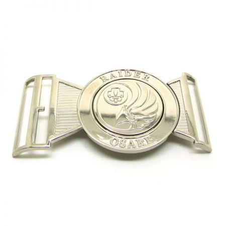 Custom Interlocking Belt Buckle - Custom Interlocking Belt Buckle