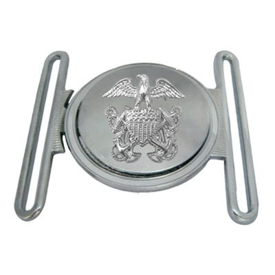 Silver Interlocking Belt Buckle