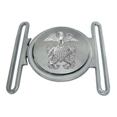 Silver Interlocking Belt Buckle