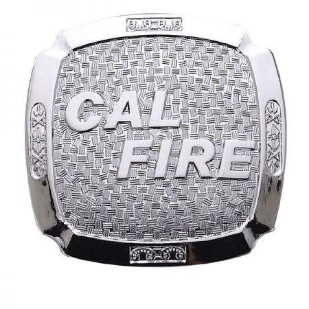 CAL Fire Belt Buckles - Silver Belt Buckles