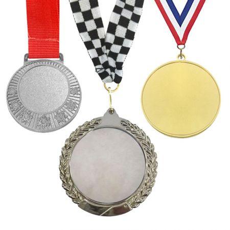 Blank Insert Medals (Open Design) - Zinc alloy blank medals