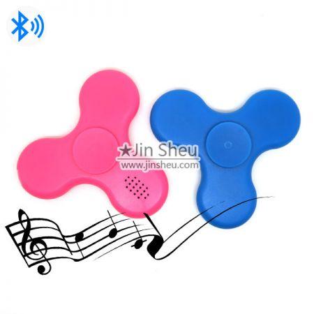 A) Bluetooth Speaker LED Fidget Spinner - Bluetooth Speaker LED Fidget Spinner
