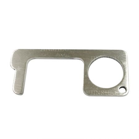wholesale brass door opener keychains