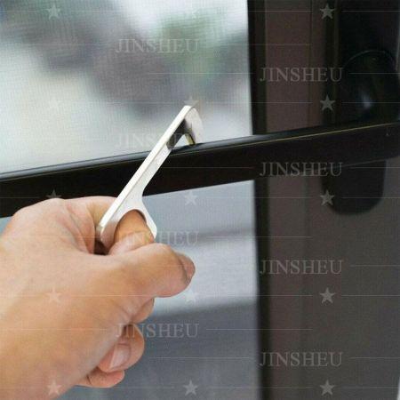 promotional EDC door opener keychain