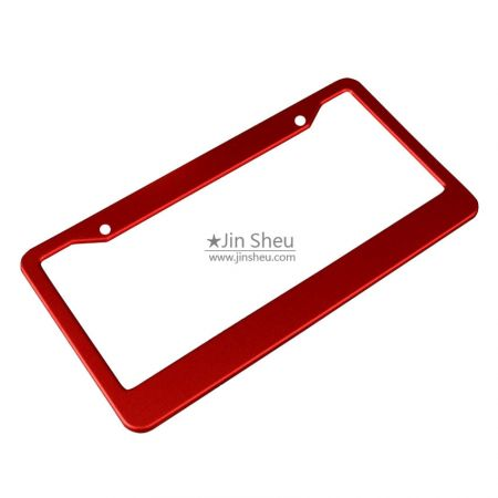 personalized number plate frames