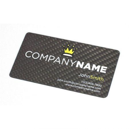Custom Carbon Fiber Business Cards - Custom Carbon Fiber Business Cards