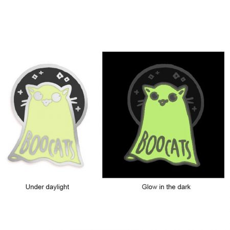 Glow in the Dark Lapel Pins - Customized Lapel Pins with Glow in the Dark Color