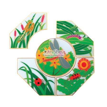 Jigsaw Puzzle Pins - Jigsaw Puzzle Pin Badges