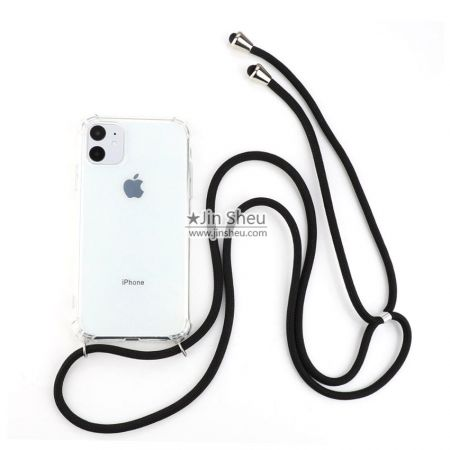 TPU Cellphone Case with Cord Lanyard - Cellphone Case with Neck Strap Lanyard
