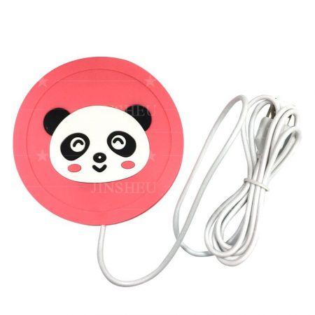 custom soft PVC USB warmer coasters
